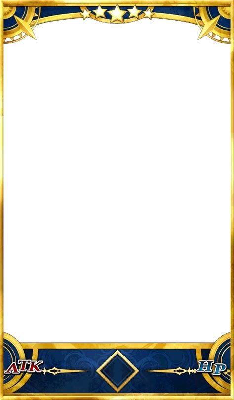 dokkan card template png image caster 5star card png fate grand order wikia