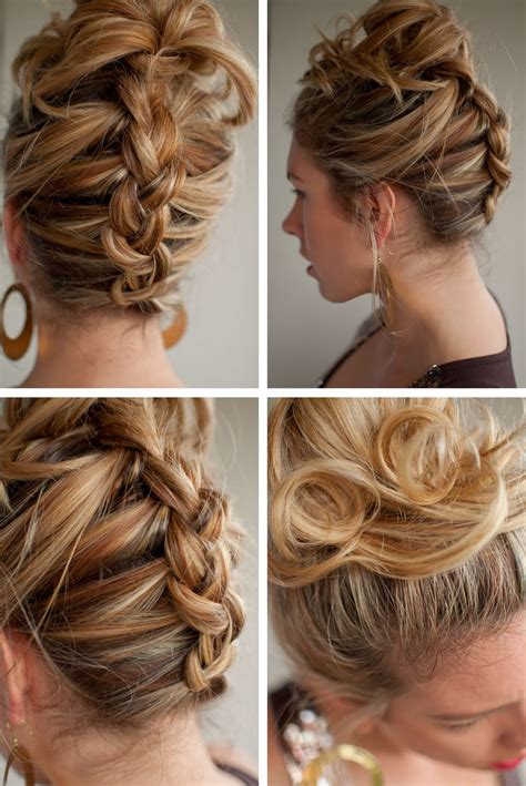 Twist And Pin Hairstyle by 30 Days Of Twist Pin Hairstyles Day 13 Hair