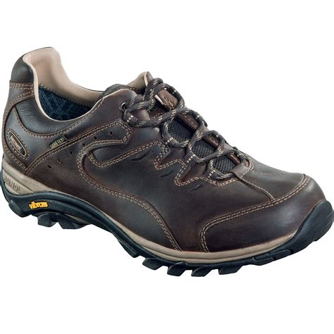 meindl caracas mens gtx walking shoes brown