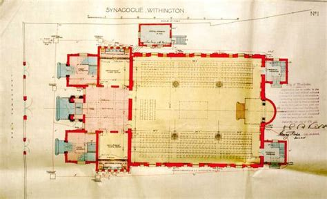 synagogue floor plan looking at buildings plan furnishings and liturgy