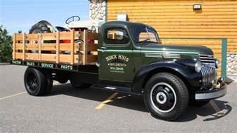 still ready to work 1946 chevy farm truck
