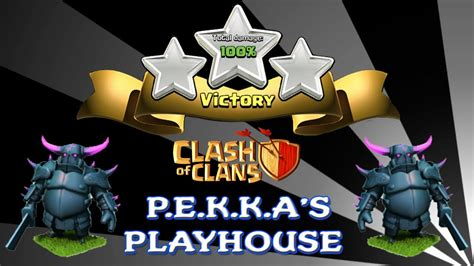 casa dei giochi di pekka clash of clans p e k k a s playhouse new update pekkas 100