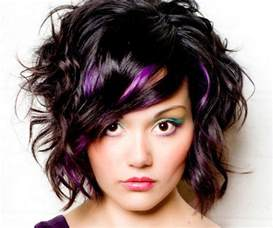 black hairstyles purple black hair purple highlights hairstyle pictures