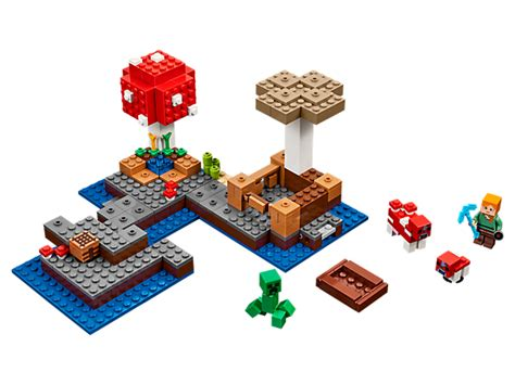 spielzeugsack lego the island 21129 minecraft lego shop