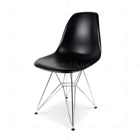 eames style dining dsr eiffel chair black