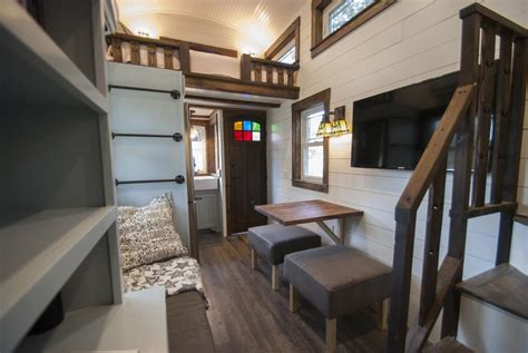 tiny house town luxury davenport tiny house 270 sq ft
