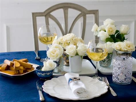 set up dinner table for any party whisk affair simply elegant dinner party hgtv