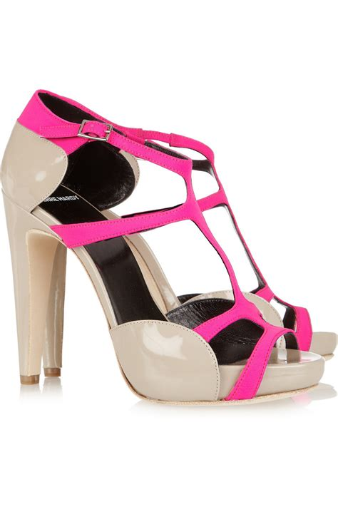 beige pink wedding shoes bridal splurge accessories 1
