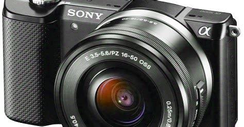 Kamera Sony A5000 Terbaru spesifikasi dan harga terbaru sony alpha a5000 2016 informasi seputar kamera mirrorless