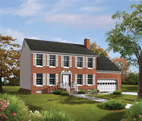 tidewater colonial home plan 001d 0009 house plans and