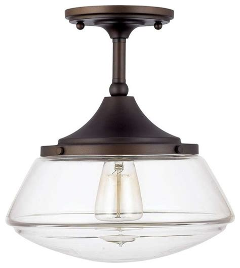 halifax ceiling light burnished bronze traditional