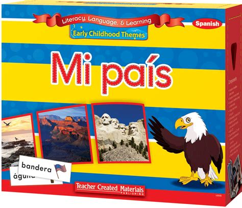 mi pais inventado spanish language early childhood themes mi pa 237 s my country kit spanish version teacher created materials