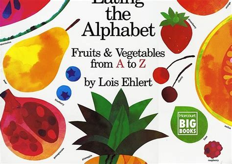 a z name that fruit and vegetable books the alphabet fruits vegetables from a to z