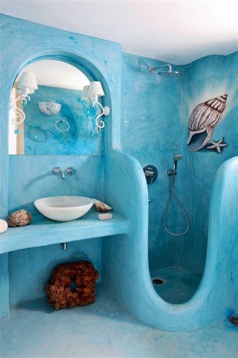 beach bathroom decor ideas 44 sea inspired bathroom d 233 cor ideas digsdigs