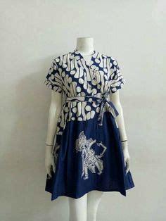 Dress Batik Martha model cardigan batik vest tanpa lengan motif kelengan 2018