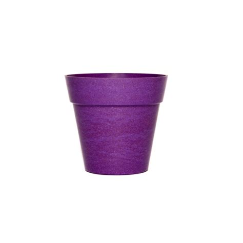 Purple Planter by Green Tones Small Classic Plant Pot Purple Garden