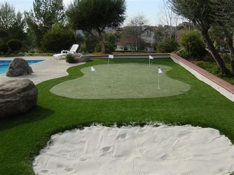backyard putting green artificial turf 187 backyard and yard