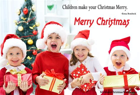 short cute christmas quotes  kids children toddlers teenagers