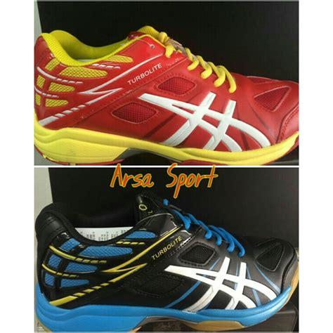 Sepatu Asics Turbolite penjual sepatu volly joging professional turbolite arsa sport