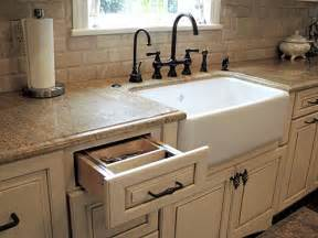 Kitchen Faucets For Farmhouse Sinks Country Style Kitchen Featuring Mount Farmhouse Sink The Mount