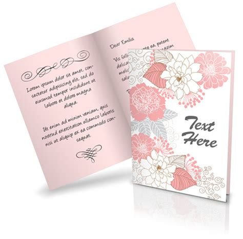 free gift card template script powerpoint templates free greeting card template