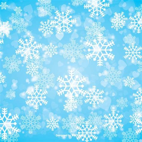 Free Vector Winter Snowflake Background 26736 My