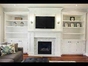 Fireplace Mantel Bookshelves by Diy Fireplace Mantel Diy Artificial Fireplace Design Youtube