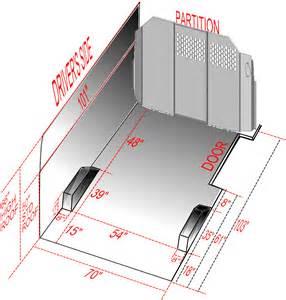 Dimensions Of A Dodge Caravan Nissan Nv Dimensions