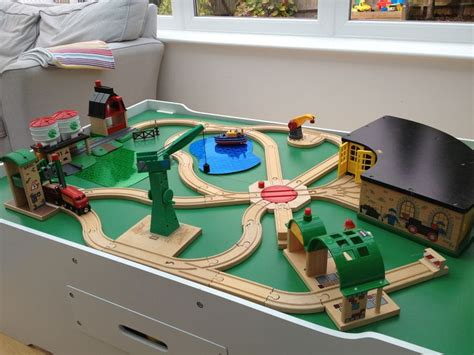 brio wooden railway system table 47 best tracks images on brio wooden