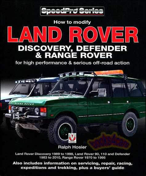 car manuals free online 2010 land rover discovery on board diagnostic system how to modify land rover discovery range rover defender manual book off road 4wd ebay