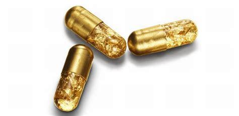 Tobias Wong Strange But Alluring Designers Block by Popping 24 Karat Gold Capsules Will Make You Gold