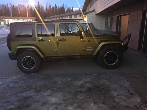 Jeep Wrangler Anchorage 2008 Jeep Wrangler Unlimited For Sale In Anchorage Ak