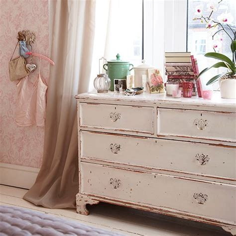 shabby chic bedroom with chest decorating housetohome co uk