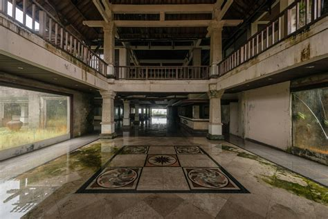 romain veillon photographer romain veillon captures a ghost hotel in bali