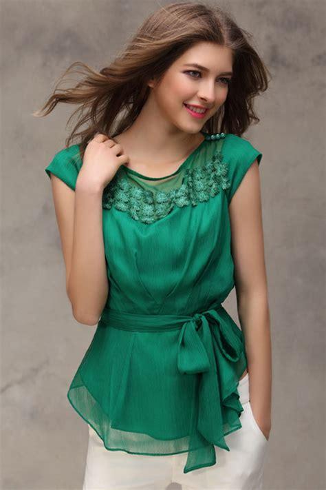 blusas modelo 2016 blusas para gorditas 187 blusas verdosas 2016 3