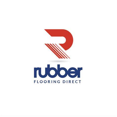 rubber st logo design rubber flooring direct logo design