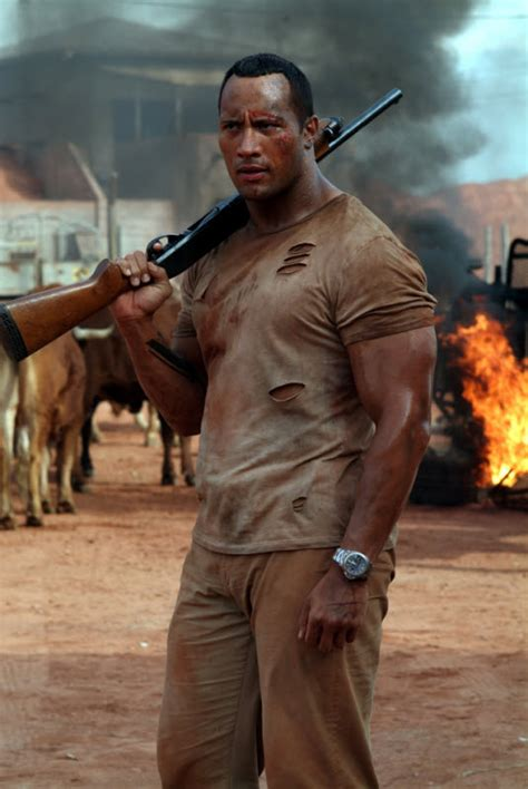 tattoo meaning in faster movie dwayne johnson and the rundown director working on