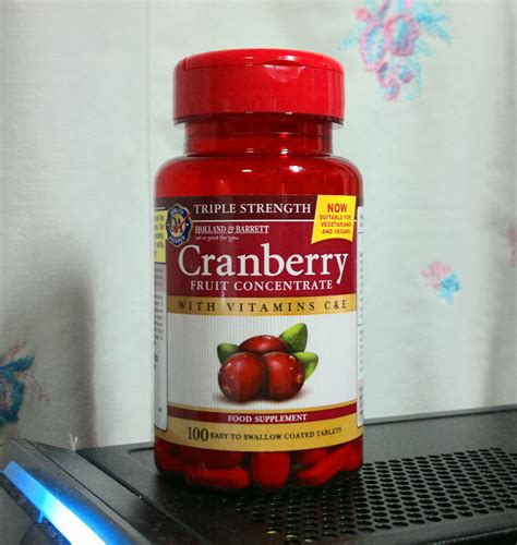 Suplemen Cranberry Mille Feuille Cranberry Supplements