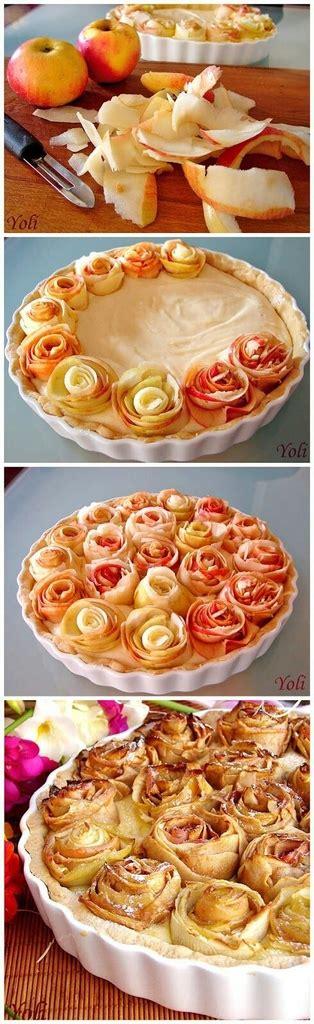 decorative apple roses apple cake image 1289313 by awesomeguy on favim