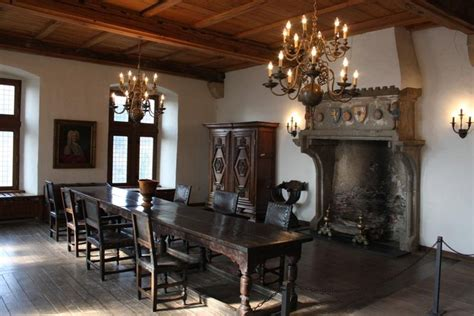Castle Dining Room by Dining Room In Vianden Castle Photo