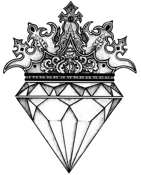black diamond tattoo uk the 25 best ideas about diamond drawing on pinterest
