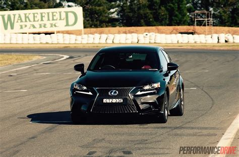 lexus is300h sport lexus is 300h f sport track test can you in a