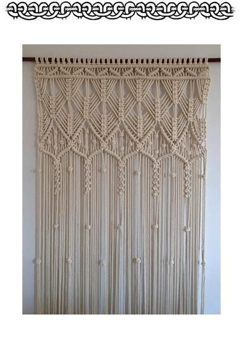 25 best ideas about macrame curtain on pinterest how to macrame crochet hammock diy and macrame