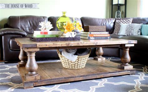 20 inspirations of diy restoration hardware coffee table build a diy restoration hardware inspired balustrade