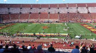 17 Usc Section 101 by Los Angeles Memorial Coliseum Interactive Seating Plan