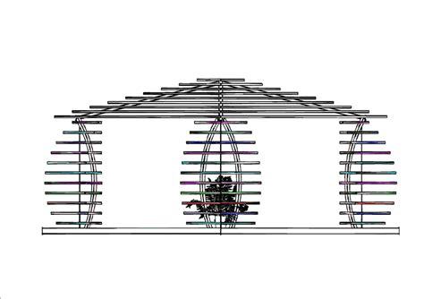progetto gazebo in legno progetto gazebo in legno idee tende da sole