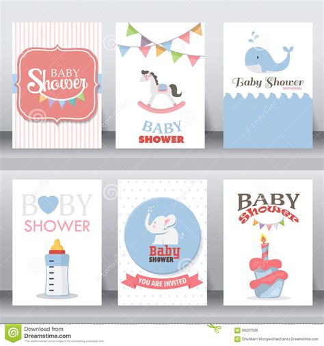 birthday card from baby template happy birthday greeting and invitation