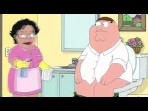 Cleaning Lady Family Guy Meme - family guy consuela quot i clean toilet quot youtube