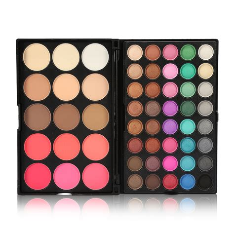 Ebay Palettes by Eyeshadow Concealer Contour Palette Brush