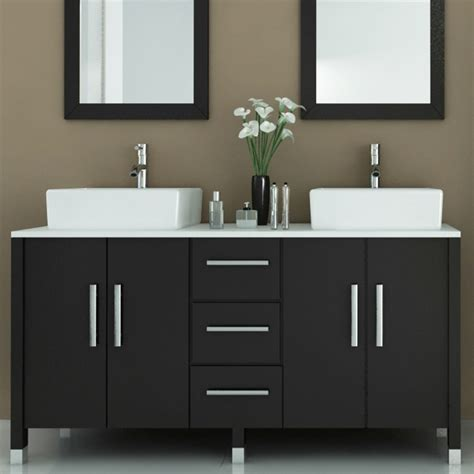 Contemporary Bathroom Vanity by Bathroom Modern Bathroom Vanities With Vessel Sinks To